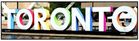 Toronto Pan Am Games Sign, Nathan Phillips Square