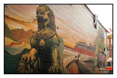 Forbidden City Mural, 2015