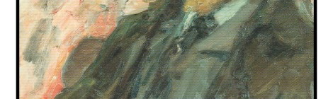 TITLE: R. M. Rilke in Moscow, 1928 ARTIST: Leonid Pasternak (1862 - 1945)