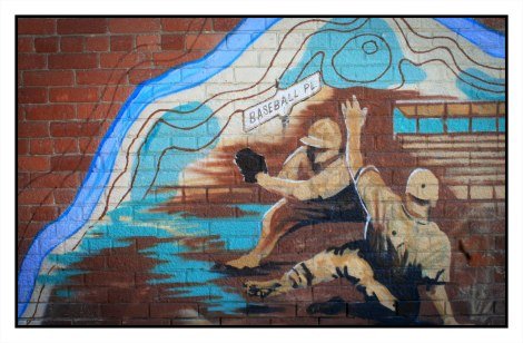 Riverside Sports Legacy Mural - Monica Wickeler, 2014