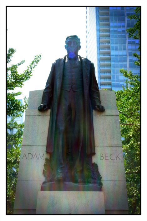 Adam Beck Memorial, Emanuel Hahn - 1934