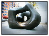 Two Large Forms - Henry Moore, 1969