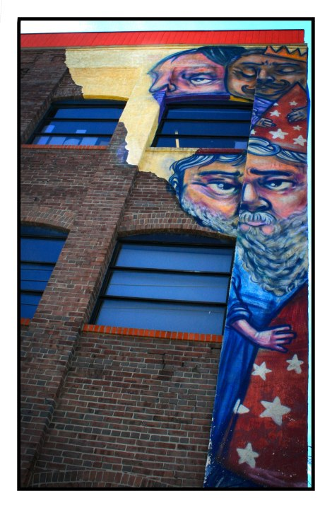 The Magic Building Mural, Elicser Elliot, UNKNOWN