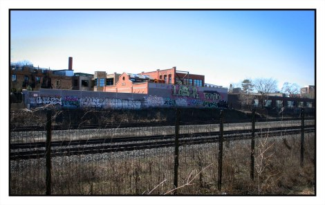 West Toronto Railpath Graffiti, Multiple and Unknown, 2017